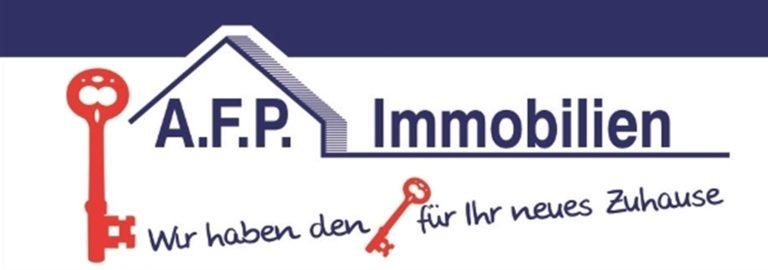 AFP Immobilien Viol Werbeschild Banner 9b 768x270