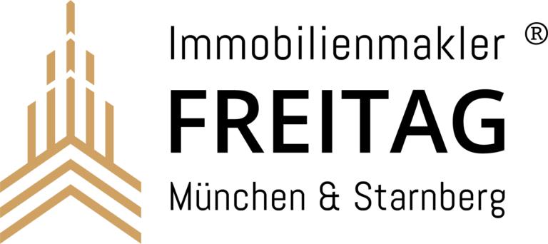 Freitag Immobilien Logo weisser hintergrund 768x342